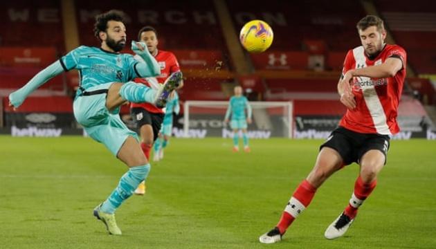 АПЛ: «Ліверпуль» програв «Саутгемптону»