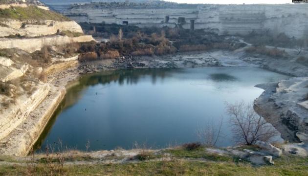 В Інкерманському кар'єрі в Криму закінчилася вода