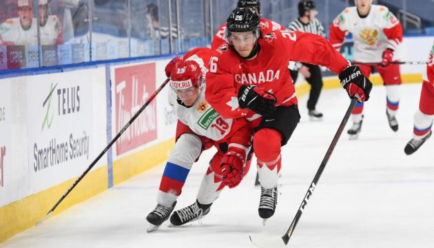 Хокей: Канада декласувала Росію і зіграє зі США у фіналі молодіжного ЧС