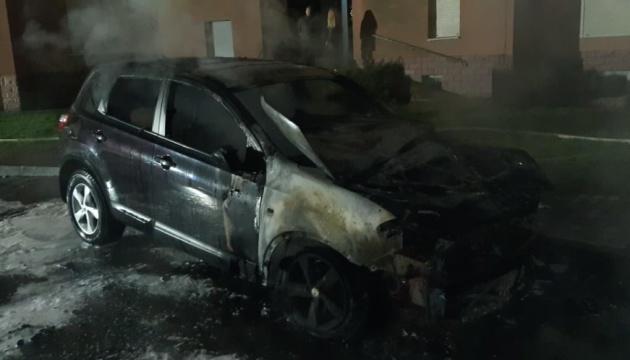 В Івано-Франківську спалили автомобіль судді