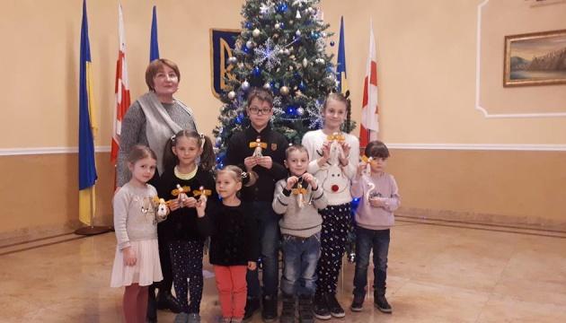 Для маленьких українців Грузії провели різдвяний майстер-клас