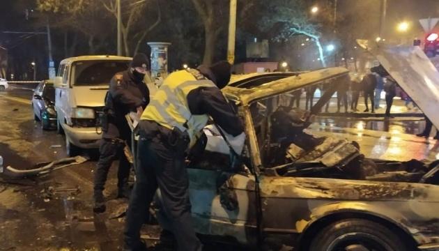 У масштабній автотрощі в Одесі загинули двоє осіб