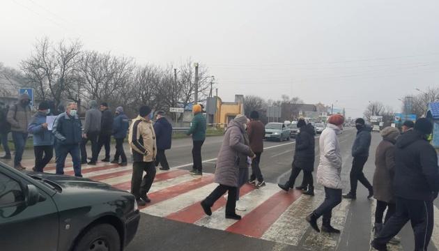 На Прикарпатті перекрили трасу державного значення — вимагають знизити ціни на газ