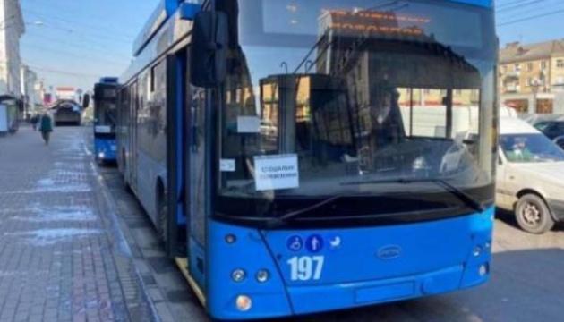 У Рівному через аварію електромережі зупинилися всі тролейбуси