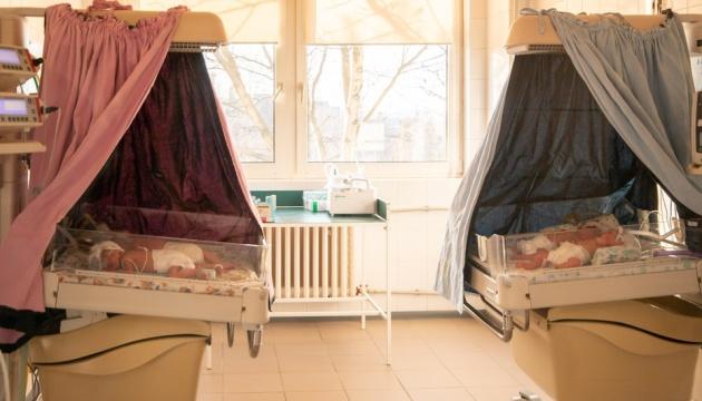 В Ужгороді новонародженій четвірні дали імена