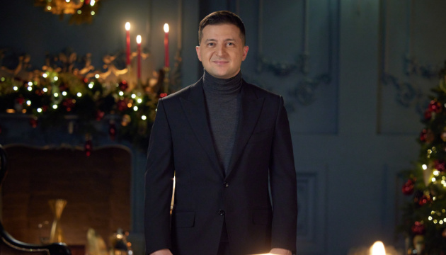 Zelensky, Razumkov release Christmas greetings