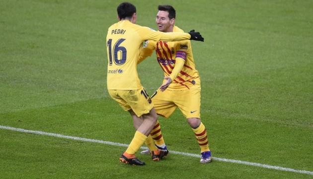 Ла Ліга: «Барселона» перемогла на виїзді «Атлетік»