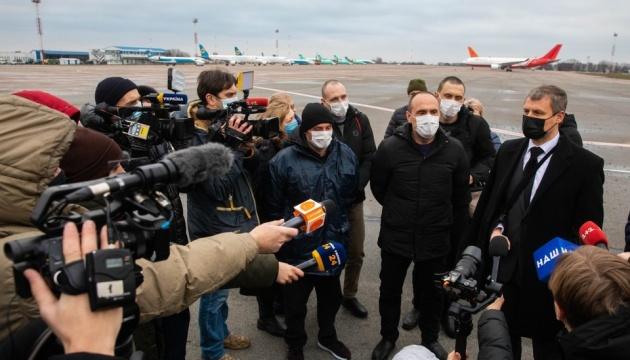В Україну повернулися моряки, яких більш ніж чотири роки утримували в Лівії