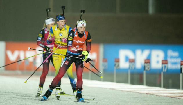 Екгофф виграла спринт Кубка світу з біатлону в Обергофі, Джима - десята
