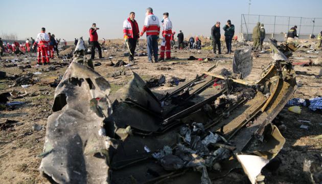 Cinco países hacen una declaración en el aniversario del accidente del avión de la UIA en Irán