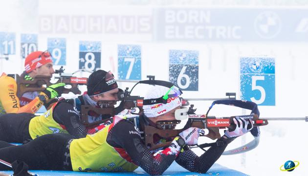 Норвезькі біатлоністи домінували у спринті на Кубку світу в Обергофі