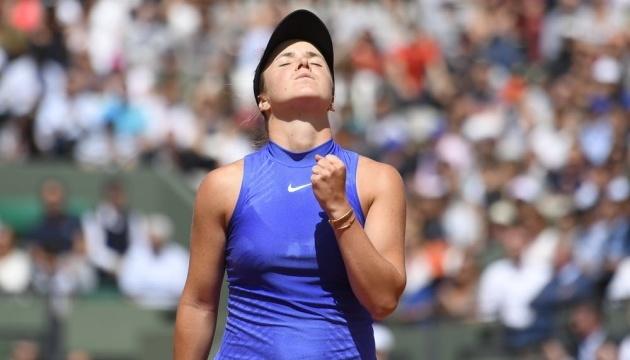 Свитолина обыграла россиянку во втором круге турнира WTA в Абу-Даби