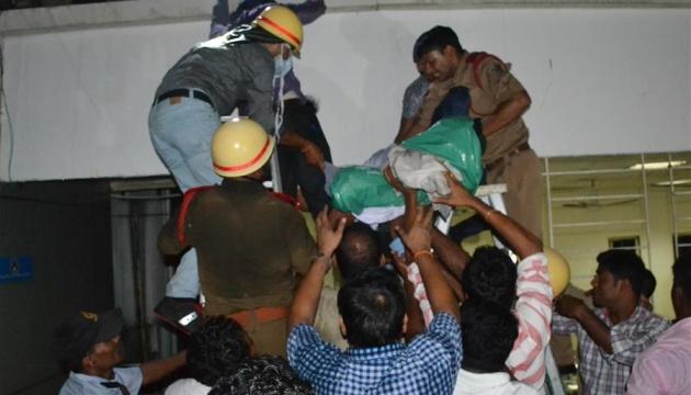 В Індії під час пожежі у лікарні загинули десятеро немовлят