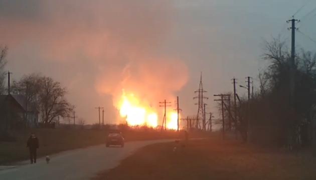 Вибух газопроводу на Полтавщині: без блакитного палива досі понад три тисячі абонентів