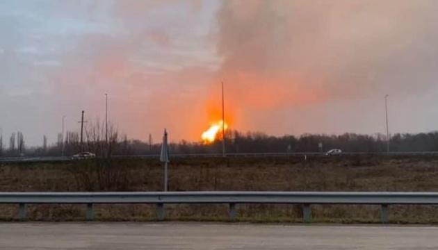 На магістральному газопроводі на Полтавщині стався вибух