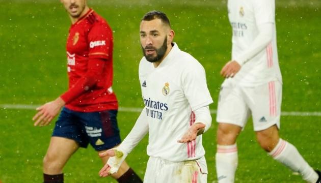 «Реал» втратив очки з «Осасуною» і не став лідером Ла Ліги