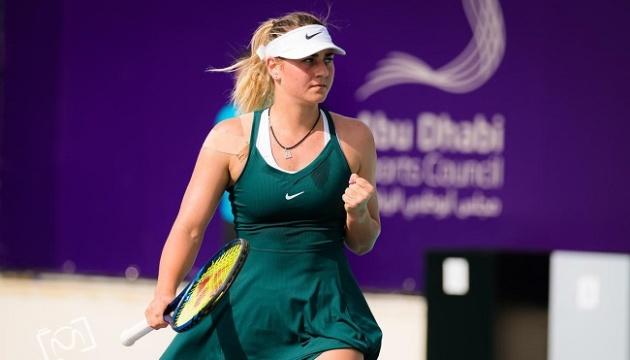 Костюк вийшла в чвертьфінал турніру в Абу-Дабі