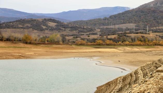 У Криму зменшуються запаси води - міліють усі водосховища