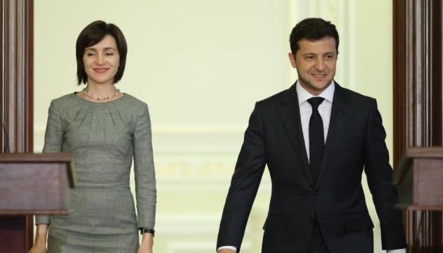 Zelensky mantendrán conversaciones con Sandu el martes