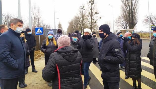В Винницкой области «тарифные протесты» перекрыли международную трассу и улицы