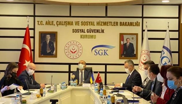 Україна і Туреччина продовжують переговори щодо угоди про соцзабезпечення