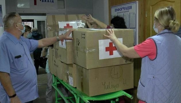 Українці Швейцарії передали гуманітарну допомогу двом медзакладам в Полтаві