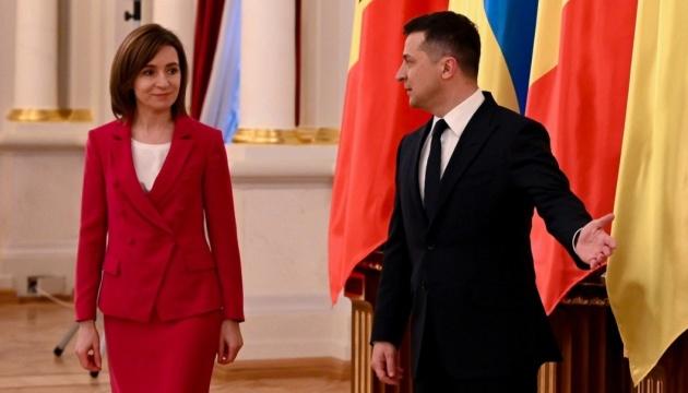 Sechs wichtige Punkte des Besuchs von Präsidentin Sandu in die Ukraine – Präsidialbüro