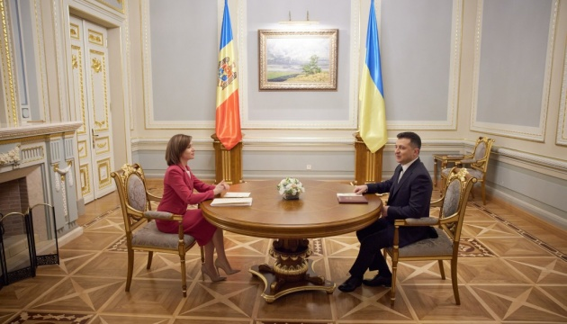 Moldova sees Ukraine as strategic partner - Sandu