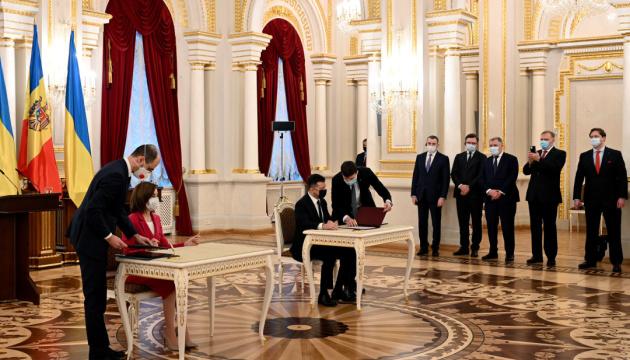 Зеленський і Санду домовилися про швидкісний автокоридор між Києвом і Кишиневом