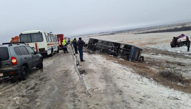 У ДТП з автобусом у Росії загинули двоє українців – МЗС