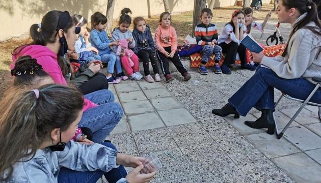 В Йорданії українці провели День казки, присвячений творчості Василя Симоненка