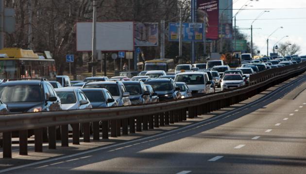 Kyiv ocupa el puesto siete en el ranking mundial en términos del número de atascos