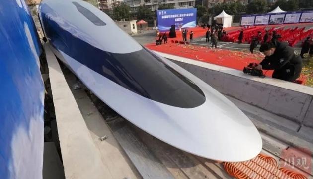 620 км/год: Китай представив прототип поїзда на магнітній подушці