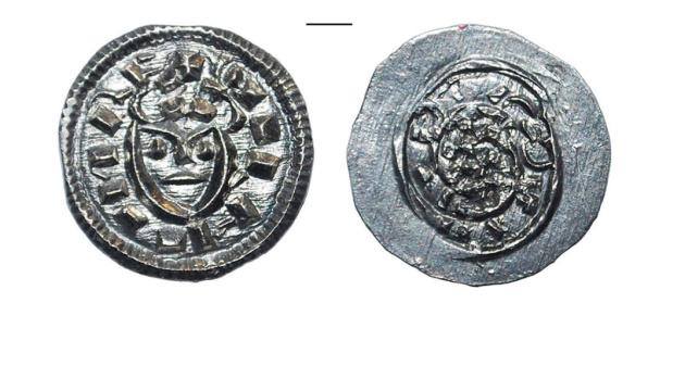 На Замковой горе нашли 1000-летнюю монету с уникальной символикой