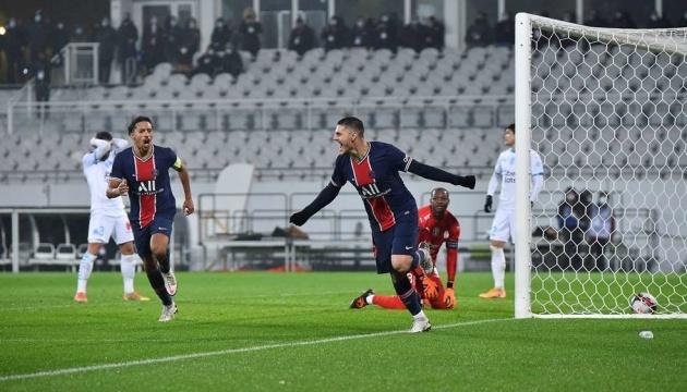 «ПСЖ» обыграл «Марсель» и выиграл Суперкубок Франции