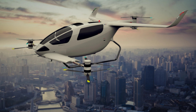 У Британії представили концепт «летючого таксі»