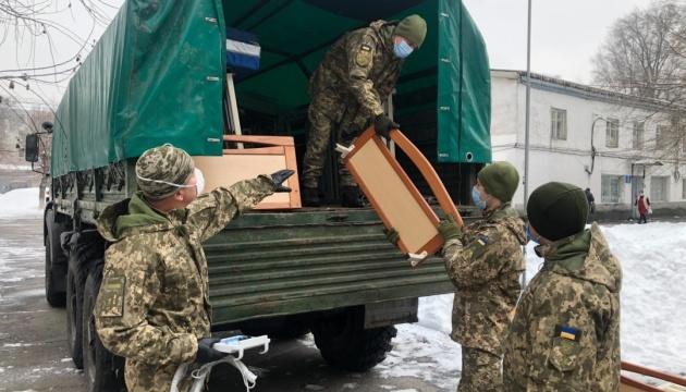Військовому госпіталю у Дніпрі передали гуманітарну допомогу