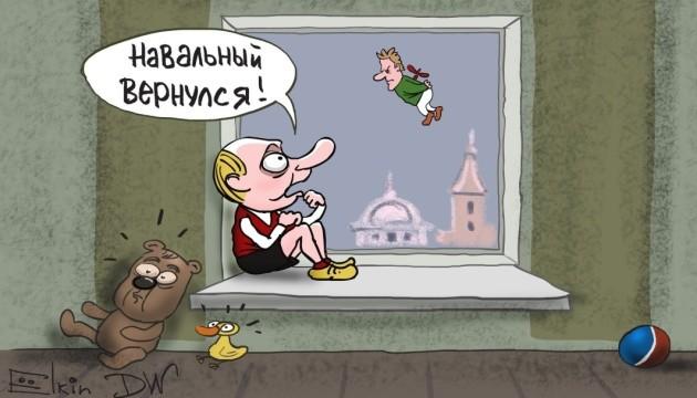 Возвращение Навального с «Победой»: в кавычках или без?