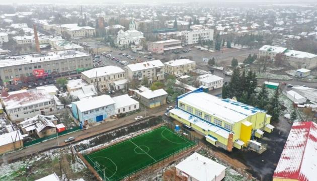 У Радомишлі за 26 мільйонів реконструювали спорткомплекс