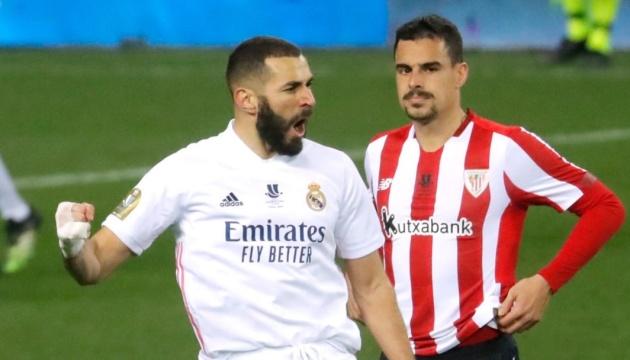 «Атлетік» обіграв «Реал» і вийшов у фінал Суперкубка Іспанії