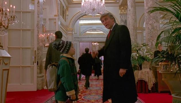 Зірка «Один вдома» підтримав ідею прибрати кадр із Трампом з фільму