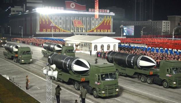 КНДР показала новий тип балістичних ракет для підводних човнів