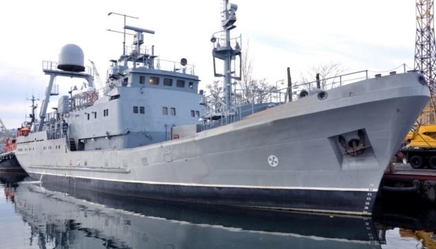 Український корабель-розвідник «Сімферополь» утретє виходить у море на випробування