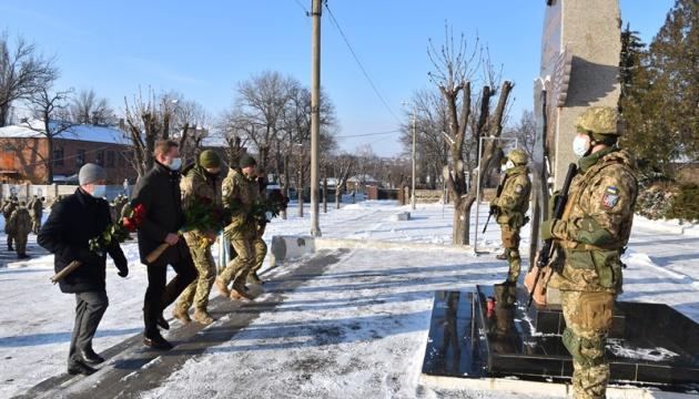 У Краматорську вшанували пам'ять захисників Донецького аеропорту