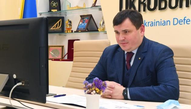 Гусєв обговорив з главою Представництва НАТО розширення ринків збуту