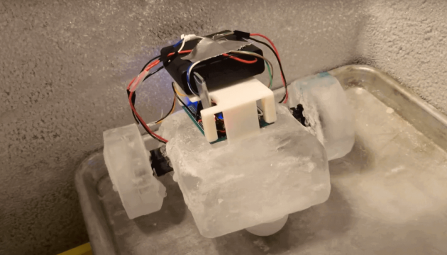 У США створили крижаного робота IceBot для роботи на Півночі