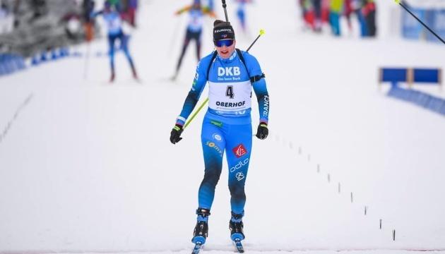 Жюлия Симон победила в масс-старте в Оберхофе
