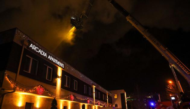 В Одессе произошел пожар в частной гостинице: есть погибший