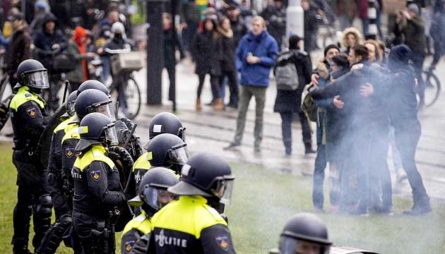 На вгамування COVID-протестів у столиці Нідерландів витратили понад €5 мільйонів