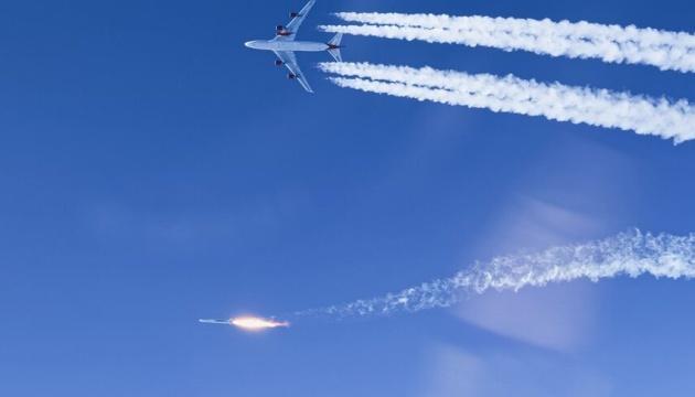 Virgin Orbit запустила ракету-носій із борту Boeing 747